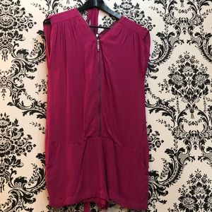 Guess Romper with front and back zipper detail